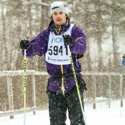 Skiing 90 km - Alexander Rundlöf (5941)