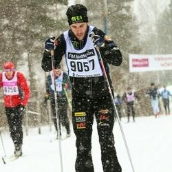 Skiing 90 km - Albin Holmström (9057)