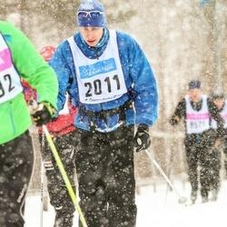 Skiing 90 km - Henrik Bolin (2011)