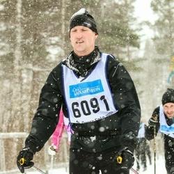 Skiing 90 km - Fredrik Lundell (6091)