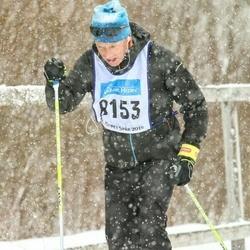 Skiing 90 km - Christian Henriksson (8153)