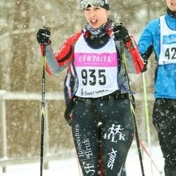 Skiing 90 km - Emelie Karlsson (935)
