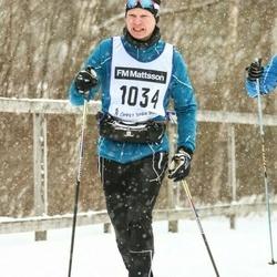 Skiing 90 km - Carl Johan Westlund (1034)