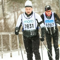 Skiing 90 km - Daniel Chilla (7831)