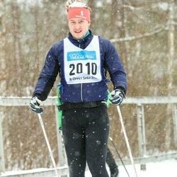 Skiing 90 km - Lucas Lövgren (2010)