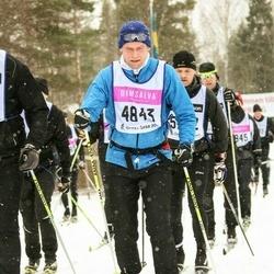 Skiing 90 km - Daniel Nordling (4843)
