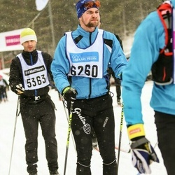 Skiing 90 km - André Larsson (6260)