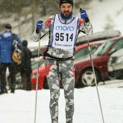 Skiing 90 km - David Cederberg (9514)