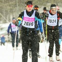 Skiing 90 km - Christian Green (2666)