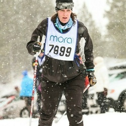 Skiing 90 km - Carina Wänglund (7899)