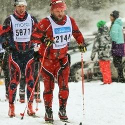 Skiing 90 km - Jan Vidar Hugsted (2144), Herbert Haslerud (5871)