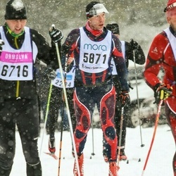 Skiing 90 km - Herbert Haslerud (5871)