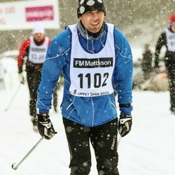 Skiing 90 km - David Bustos (1102)