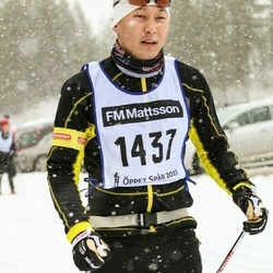 Skiing 90 km - Carl-Philip Wahlberg (1437)