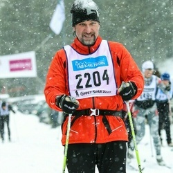 Skiing 90 km - Håkan Boman (2204)