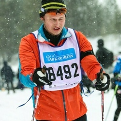 Skiing 90 km - Kim Jensen (8492)