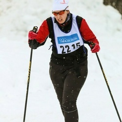 Skiing 90 km - Jennie Eriksson (2215)