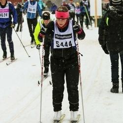 Skiing 90 km - Jennie Gustavsson (5444)