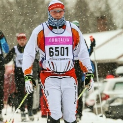 Skiing 90 km - Anders Strand (6501)