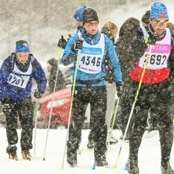 Skiing 90 km - Fredrik Rydberg (4346)