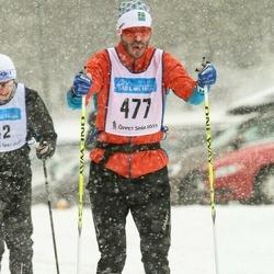 Skiing 90 km - Henrik Wemmert (477)