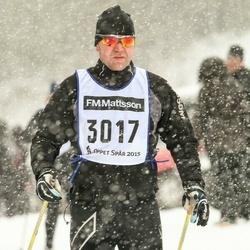 Skiing 90 km - Daniel Larsson (3017)