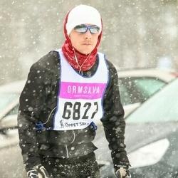 Skiing 90 km - Björn Johansson (6827)