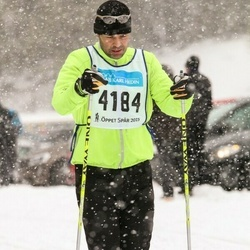 Skiing 90 km - Björn Blomstedt (4184)