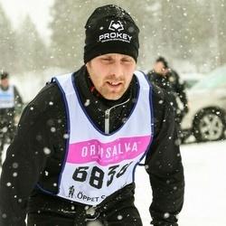 Skiing 90 km - Mikael Olsson (6838)