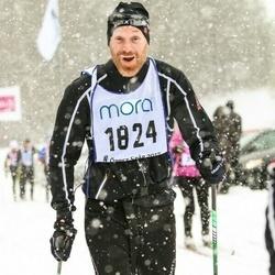 Skiing 90 km - David Trässwall (1824)