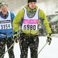 Skiing 90 km - Maria Forsberg (6980)