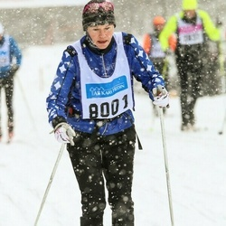 Skiing 90 km - Elisabeth Fredin (8001)