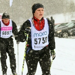 Skiing 90 km - Karin Markstad (5730)