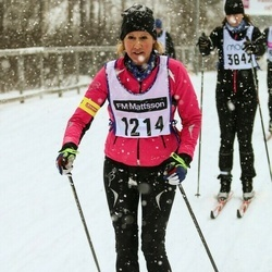 Skiing 90 km - Eva Andersson (1214)