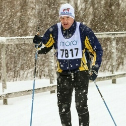 Skiing 90 km - Henrik Eriksson (7817)