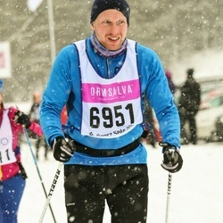 Skiing 90 km - Emil Andersson (6951)