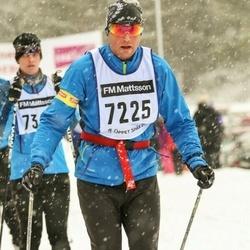 Skiing 90 km - Henrik Thielfoldt (7225)