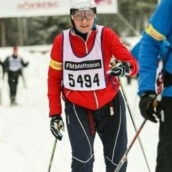 Skiing 90 km - Eli Åsgård (5494)