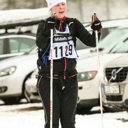 Skiing 90 km - Frida Danielsson (1129)