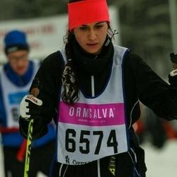 Skiing 90 km - Dona Emami Yeganeh (6574)