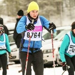 Skiing 90 km - Catherine Hirst (8764)
