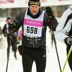 Skiing 90 km - Christer Backman (698)