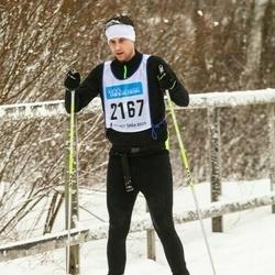Skiing 90 km - Alexander Berglund (2167)