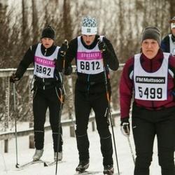 Skiing 90 km - Axel Larsson (6812)