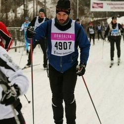 Skiing 90 km - André Carlsson (4907)