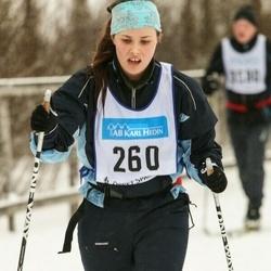 Skiing 90 km - Elin Wallin (260)
