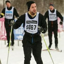 Skiing 90 km - David König (5067)