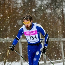 Skiing 90 km - Emil Lundgren (2754)