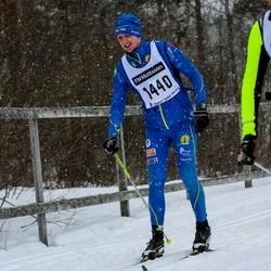 Skiing 90 km - Henrik Ekdahl (1440)