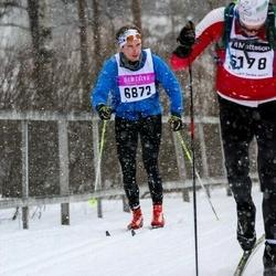 Skiing 90 km - Hugo Peterson (6872)